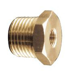 Auxiliary Material for Piping, Fitting, and Plumbing, Fitting for Water Supply Piping, Brass Bushing