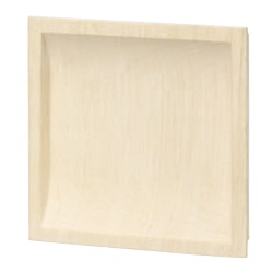 White Wood Square Pulling Handle