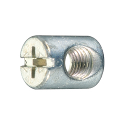 Joint Connector Round Nut Cross/Straight Slot