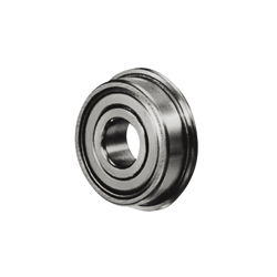 Small Deep Groove Ball Bearing with Flange-Double Shielded