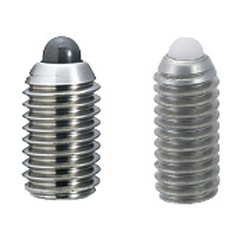 Short Spring Plungers - Stainless Steel