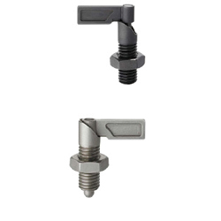 Indexing Plungers-Coarse Thread Lever