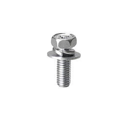 Phillips Hex Head Bolts with Washer Set