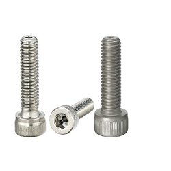 Screws with Through Hole - Hex Socket Head Cap