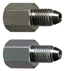 Hydraulic Fittings/Straight/Male/PT Tapped/PF Threaded