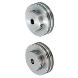 Pulleys for Round Belts - Double