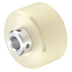 Urethane Rollers - Knurled Type - with Set Screw Holes