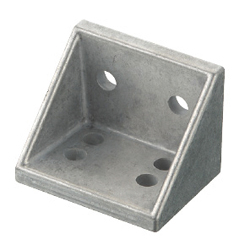 For 5 Series (Slot Width 6mm) Aluminum Frames - Tabbed Reversal Brackets