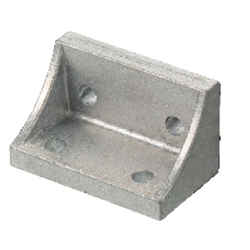 Tabbed Reversal Brackets - For 2 Slots - For 8 Series (Slot Width 10mm) Aluminum Frames