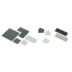 Frame End Caps - For 8 Series (Slot Width 10mm) Aluminum Frames