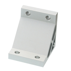 Tabbed Brackets / Extruded Brackets - For 2 or More Slots - For 8-45 Series (Slot Width 10mm) Aluminum Frames - Ultra Thick Brackets