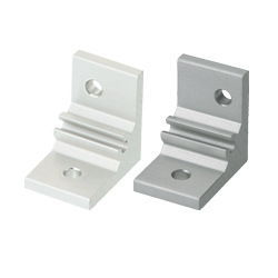 Extruded Brackets - For 1 Slot - For 6 Series (Slot Width 8mm) Aluminum Frames - Assembly Brackets for Different Extrusion Sizes