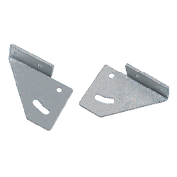 Free Angle Sheet Metal Brackets - For 6 Series (Slot Width 8mm) Aluminum Frames