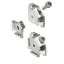 For 6 Series (Slot Width 8mm) Aluminum Frames - Post-Assembly Insertion Easy Brackets