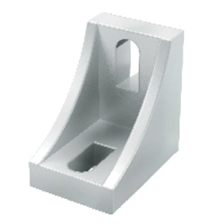 Nut Mounting Brackets - For 1 Slot - For 8 Series (Slot Width 10mm) Aluminum Frames