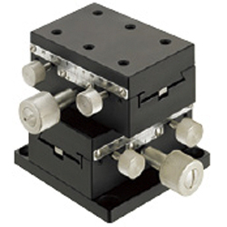 [Standard] XY-Axis Dovetail Slide, Rack & Pinion - Rectangular
