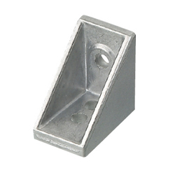 Brackets with Single Side Tab - For 1 Slot - For 6 Series (Slot Width 8mm) Aluminum Frames