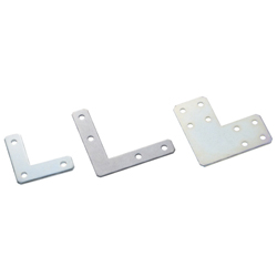 Sheet Metal Bracket For 5 Series (Slot Width 6mm) Aluminum Frames - L-Shaped