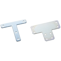 Sheet Metal Bracket For 5 Series (Slot Width 6mm) Aluminum Frames - T-Shaped