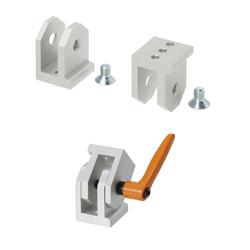 Free Angle Brackets - For 8 Series (Slot Width 10mm) Aluminum Frames