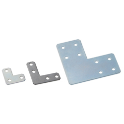 Sheet Metal Bracket For 8 Series (Slot Width 10mm) Aluminum Frames - L-Shaped
