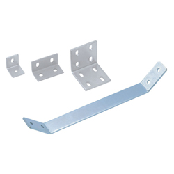 Sheet Metal Bracket For 8 Series (Slot Width 10mm) Aluminum Frames - Bent-Shaped
