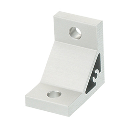 Extruded Brackets to connect 50 square Extrusions - For 1 Slot - For 8-45 Series (Slot Width 10mm) Aluminum Frames