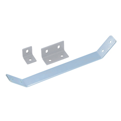 Sheet Metal Bracket For 8-45 Series (Slot Width 10mm) Aluminum Frames - Bent-Shaped