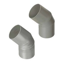 Plumbing Parts for Aluminum Duct Hoses - For Aluminum Duct Hoses 45° Reducer