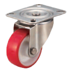 Casters - Medium Load - Wheel Material: Urethane - Swivel Type