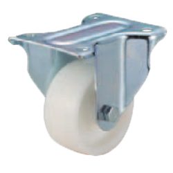 Casters - Medium Load - Wheel Material: Polypropylene - Fixed Type