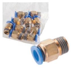 One-Touch Couplings - Male Thread Fittings (Square)