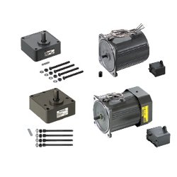Small Geared Motors/Gear Head-Induction Motors/Reversible Motors