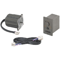 Small geared motors gear heads variable speed motor unit for Small variable speed ac electric motors