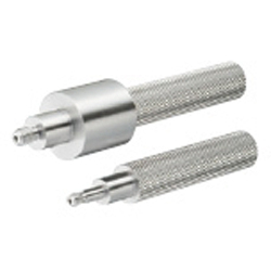 Slot Pins for Inspection Components - Straight Threaded with Step, 2-Step Type