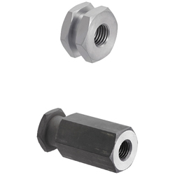 Floating Joints, Quick Connection Type - [Tapped]Cylinder Connector Configurable - T, L Configurable / T Selection, L Configurable