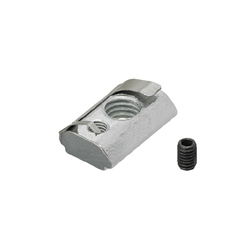 For 8 Series (Slot Width 10mm) - Post-Assembly Insertion - Lock Nuts with Leaf Springs