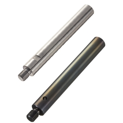 Linear Shafts-One End Threaded with Undercut and Wrench Flats / Cross-Drilled Hole