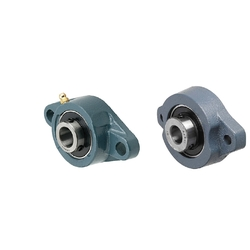 Ball Bearing/Cast Iron/Diamond Flanged