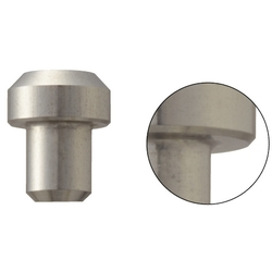Locating Pins - High Hardness Stainless Steel, Large Flat Head (Press Fit)