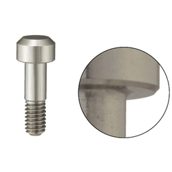 Locating Pins - High Hardness Stainless Steel, Large Flat Head (Threaded)