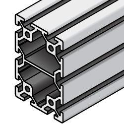 Aluminum Frame 5 Series/slot width 6/40x60mm, Parallel Surfacing