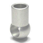 Round Pipe Joint Same Diameter Hole Type Cross End L Shape