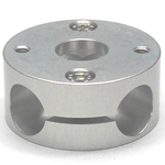 Round Pipe Joint Same-Diameter Hole Type Horizontal 4 Directional