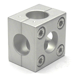 Round Pipe Joint, Same Diameter Hole Type 2-Split 5 Directional Holes
