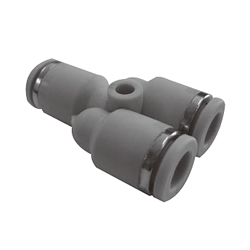 Push-in Fittings - WP Series, Union Y