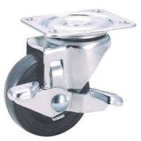Industrial Caster TE Series with Freely Swiveling Type Stopper