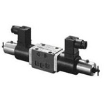 Electromagnetic proportional directional flow control valve