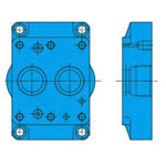 Subplate for pilot check valve