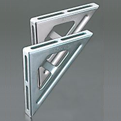 Angled-Kun/Channel-Kun, Handy Bracket (Bright Chromate Plating)